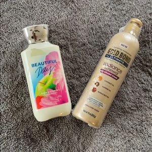 NWT BATH & BODYWORKS lotion bundle of 2